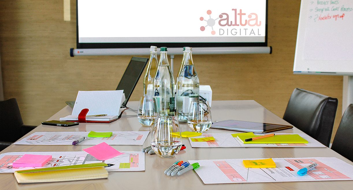ALTA Digital workshop in boardroom