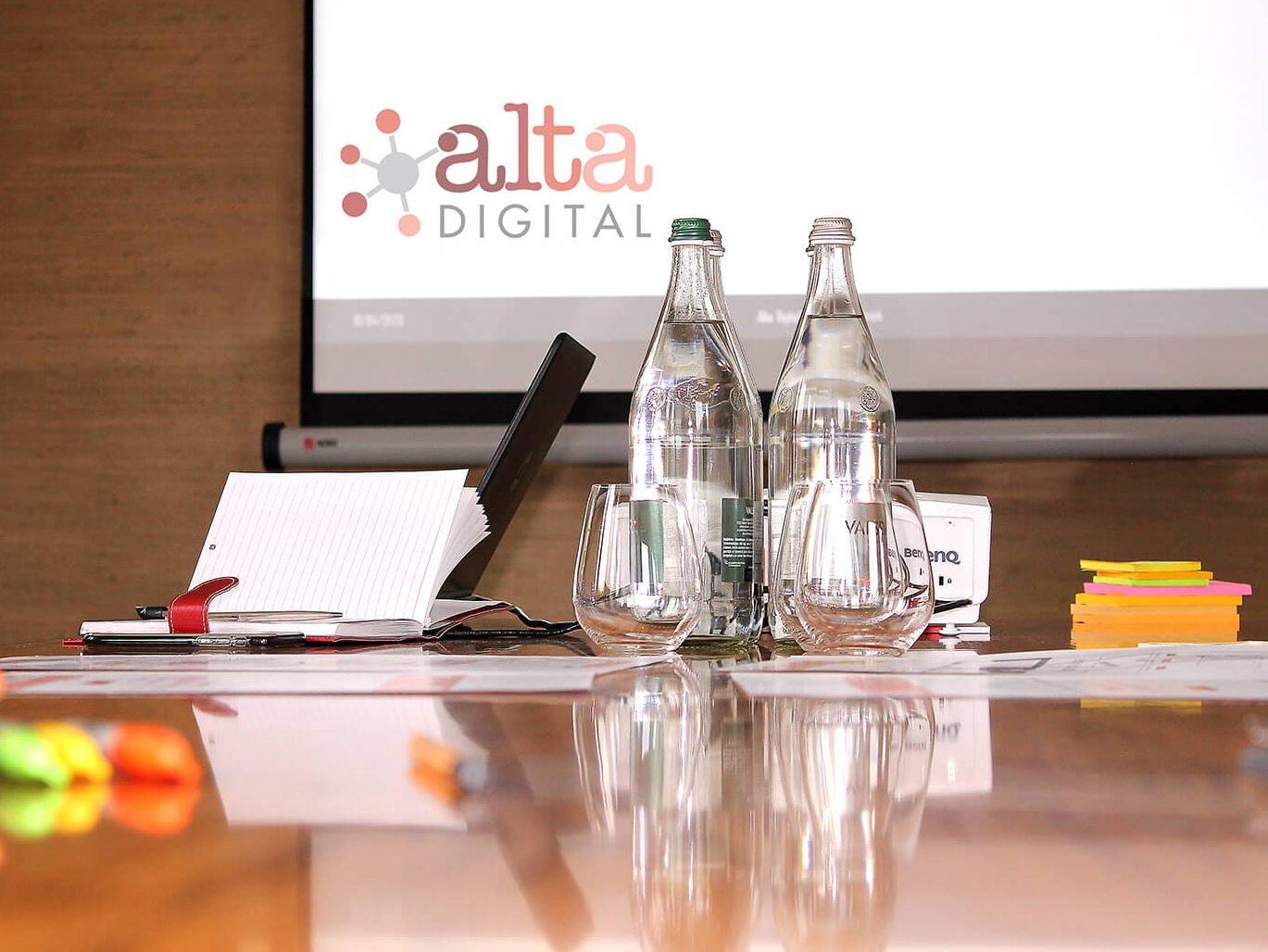 ALTA Digital governance presentation in boardroom